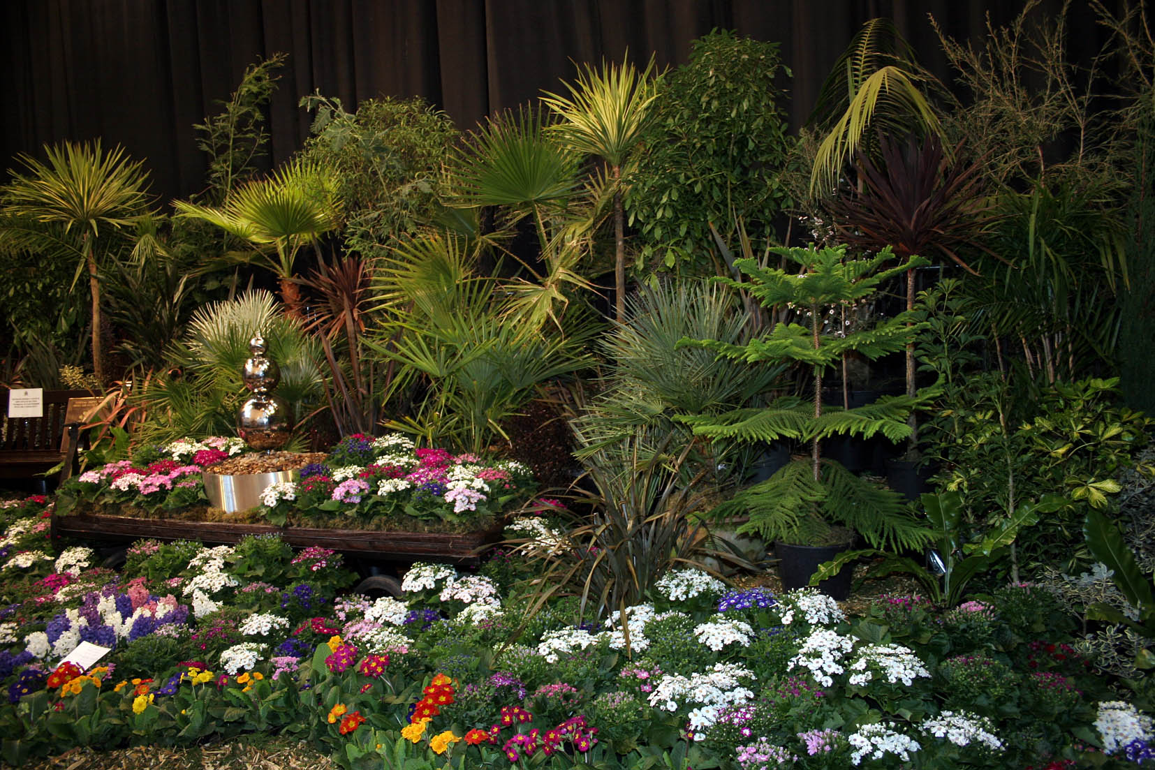 The 82nd West Cornwall Spring Show at St JohnÕs Hall Penzance. The award winning Penwith D.C. display on the main stage. Pic by CIOSP For Fletch